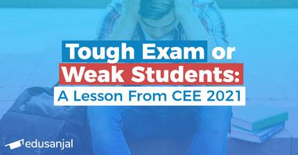 Tough Exam or Weak Students: A Lesson From CEE 2021