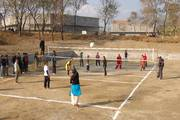 PN Campus Students playing Volleyball