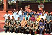 Group photo session with Prime Minister Pushpa Kamal Dahal, Myanmar Peace Deligates etc