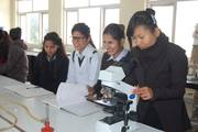 Students in Science Practical