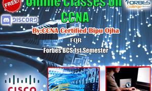 फोर्ब्स कलेजले शुरु गर्यो अनलाइन कक्षा
