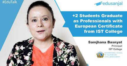 EduTalk 102 | +2 Students Graduate as Professionals with European Degree from the IST College
