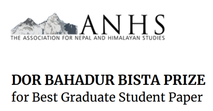 Dor Bahadur Bista Prize: The Association for Nepal and Himalayan Studies