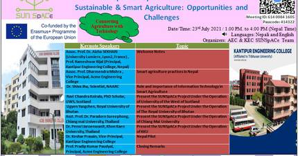 A Webinar on Connecting Agriculture with Technology