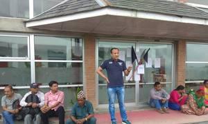 आन्दोलनमय  काठमाडौं विश्वविद्यालय, ३२ दिनसम्म पनि खुलेन ताला