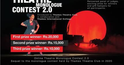 Unleash Your Dramatic Colors: Thames Theater Club Announces Monologue Competition 2.0