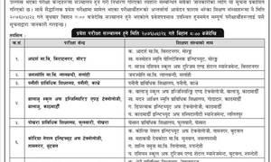 औद्योगिक प्रशिक्षार्थी (Apprenticeship) कार्यक्रमको प्रवेश परीक्षाको परीक्षा केन्द्र सम्बन्धी सूचना