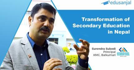 EduTalk 96 | Transformation of Secondary Education in Nepal