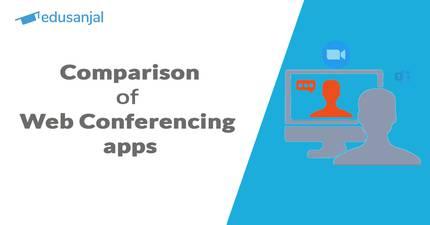 Comparison of web conferencing apps