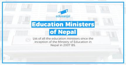Education Ministers of Nepal