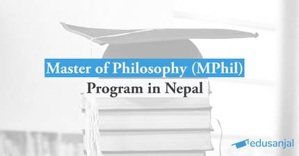 Master of Philosophy (MPhil) Program in Nepal
