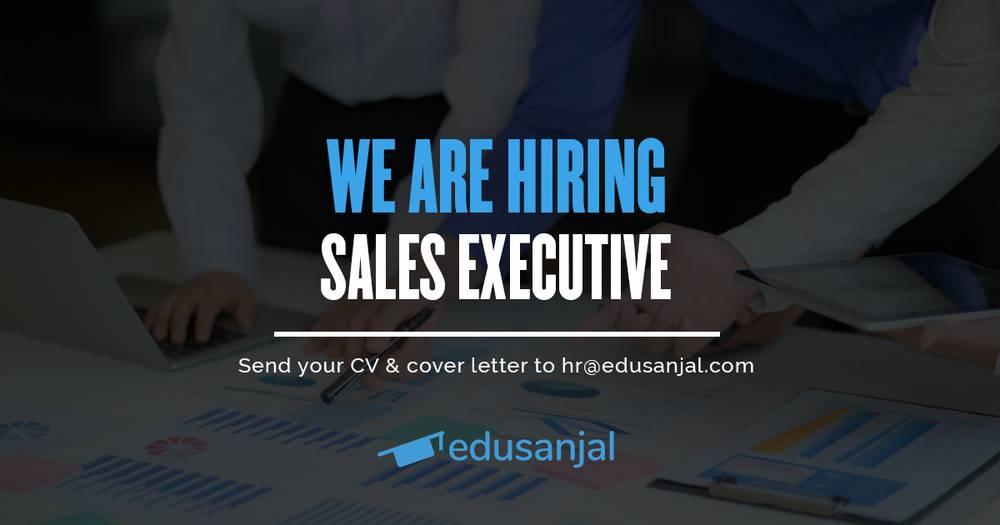 Vacancies Announcement for Sales Executive at edusanjal
