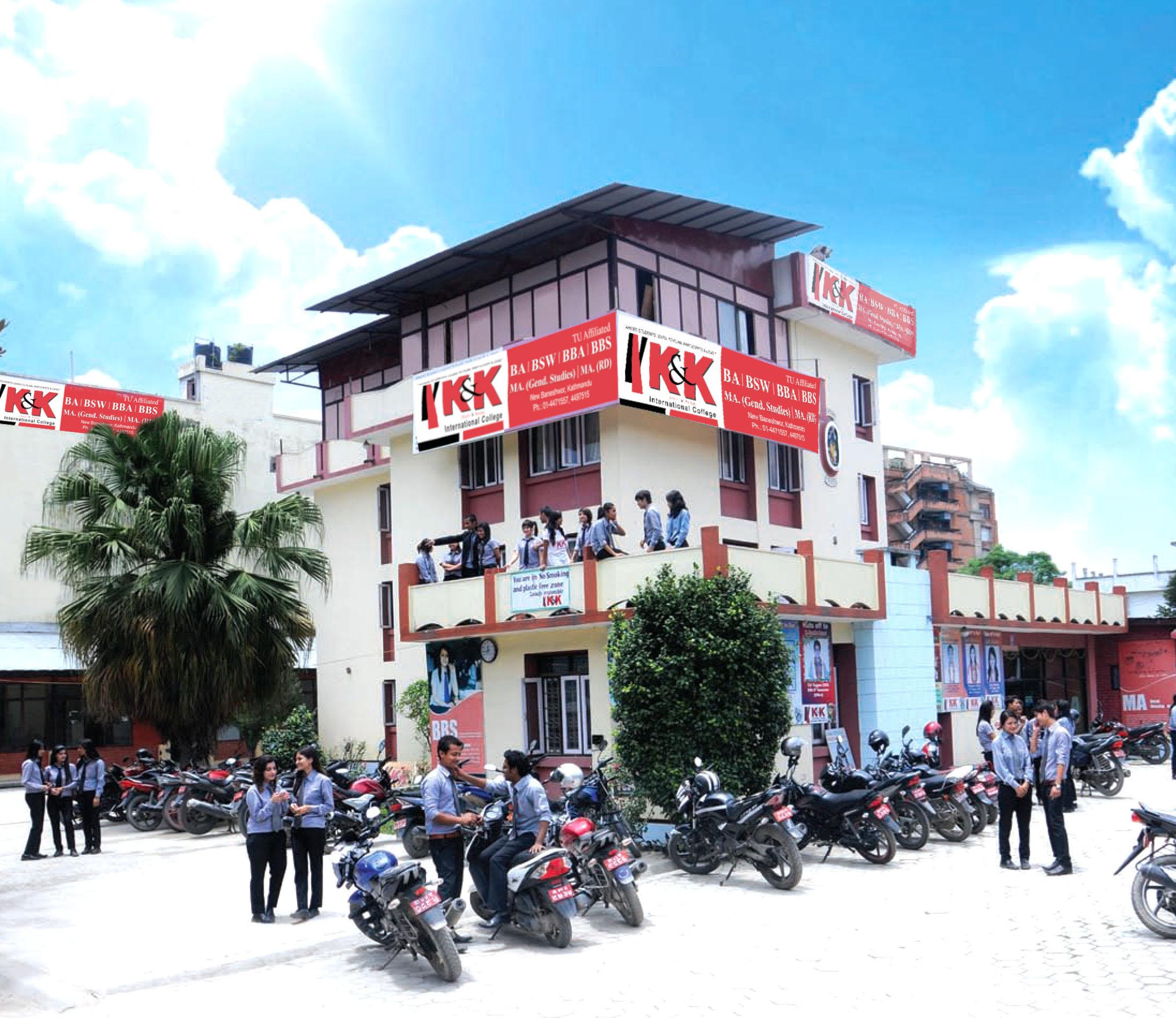 K And K Auto >> K And K International College Kathmandu Kathmandu